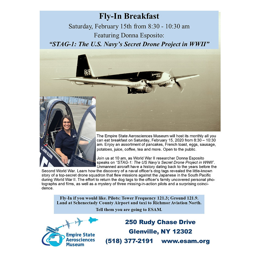 ESAM Fly in Breakfast With Special Guest Donna Esposito