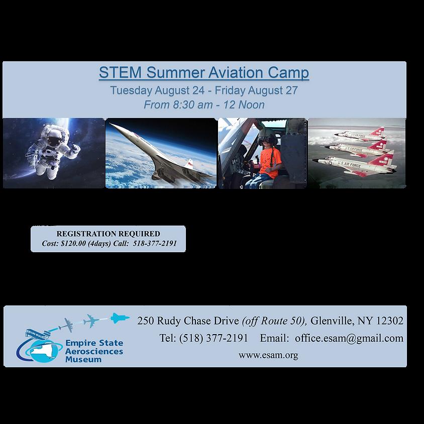 STEM Summer Aviation Camp