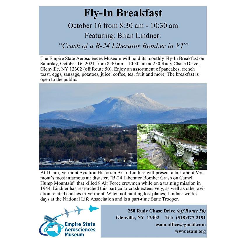 "ESAM Fly in Breakfast - ""Crash of a B-24 Liberator Bomber in VT"""