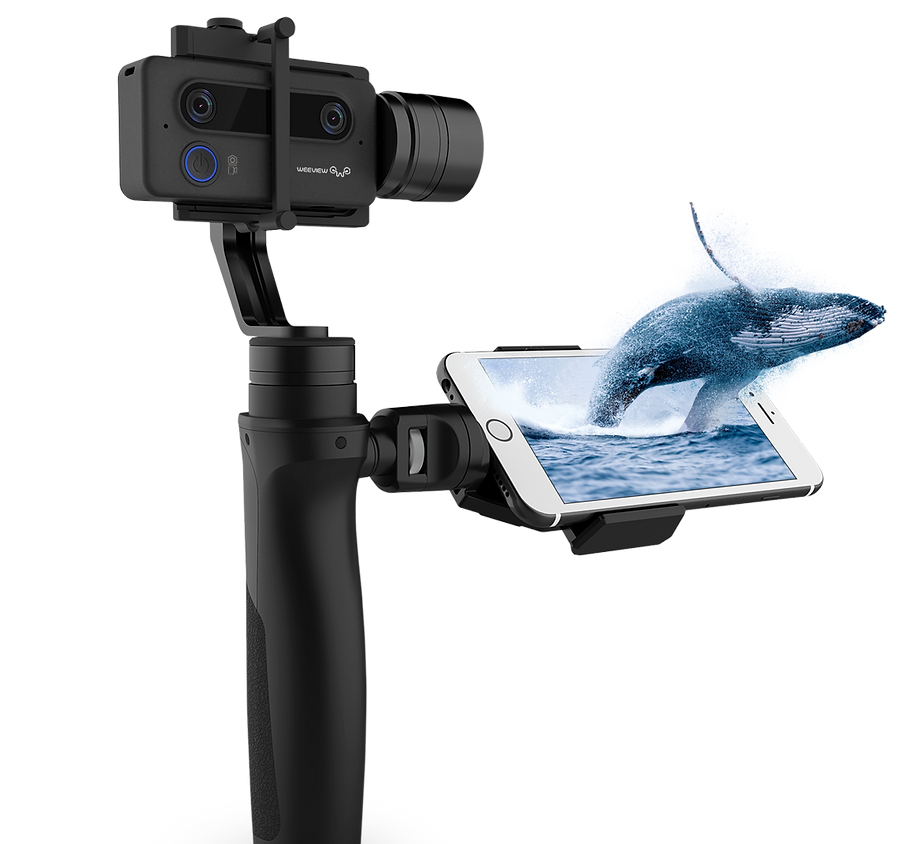 Weeview SID 3D Camera, shake-free 3D video creation on the go, anytime, anywhere