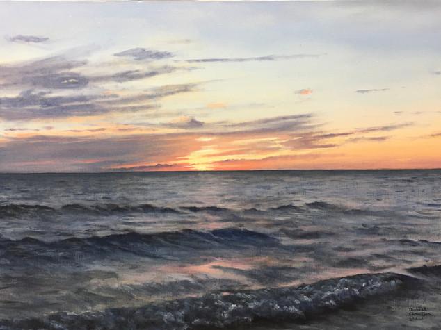 """Duck Harbor Sunset"""