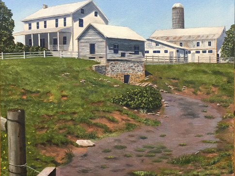 """""""Farm on Cabin Drive"""""""