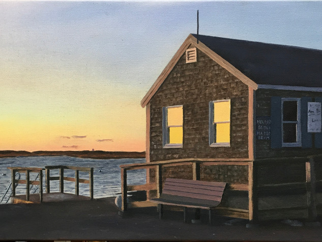 October Sunset- Pamet Harbor