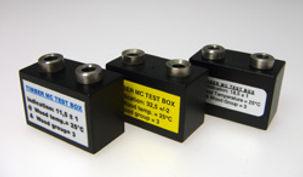 Test Box per le verifica della calibrazione dei misuratori a resistenza
