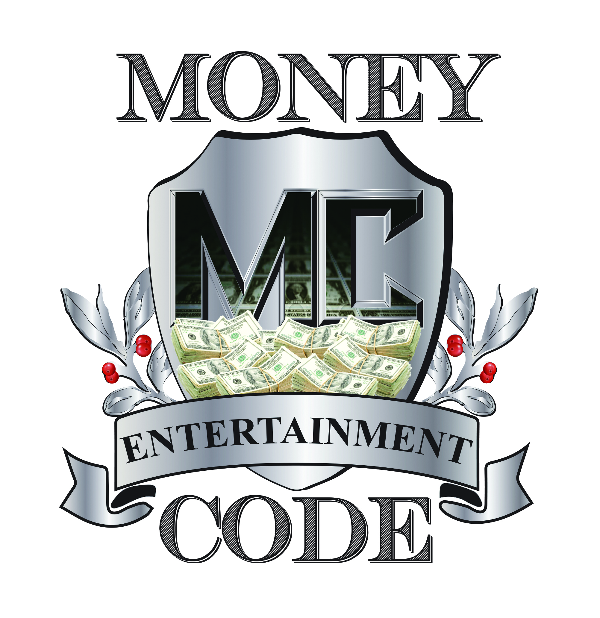 MONEY CODE ENTERTAINMENT  Final logo Design