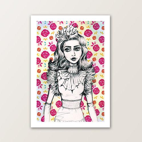 'Lady Poppy' PRINT