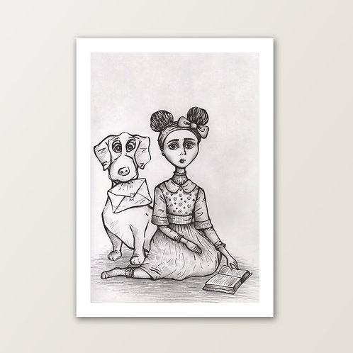 'Kitty & Rupert' PRINT