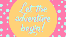 A New Creative Adventure