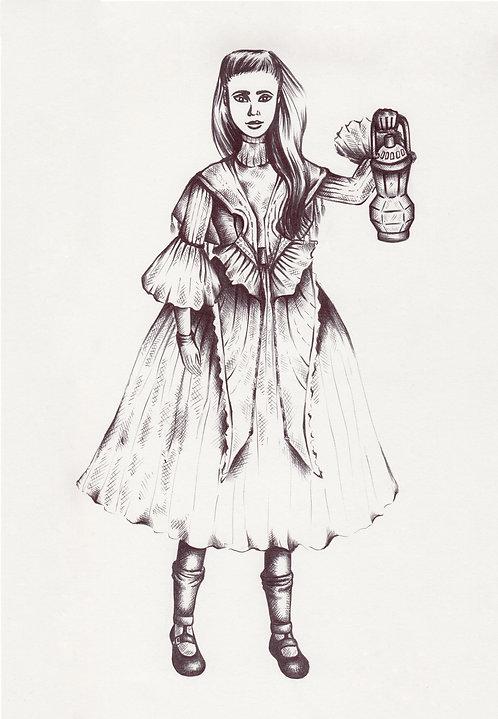 Lily Anna ORIGINAL Illustration