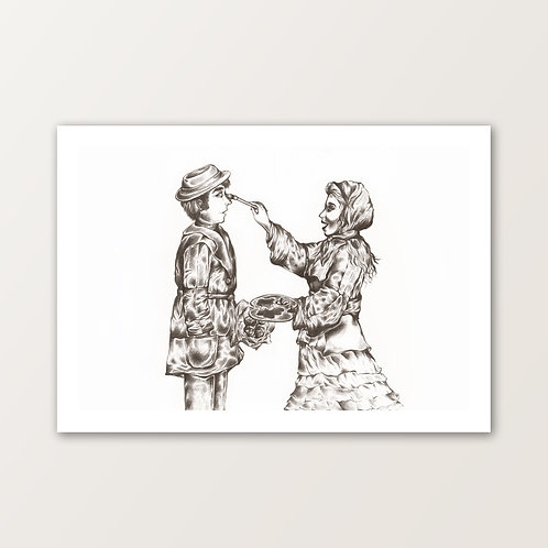 'Let Me Paint How I Feel About You' PRINT