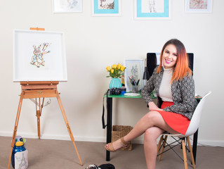 My Creative Space: When I Work, I Mostly Play