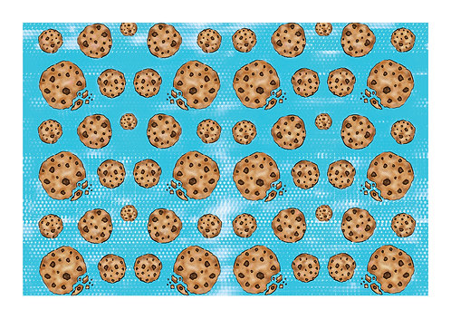 'Feed Me Cookies' PRINT Illustration