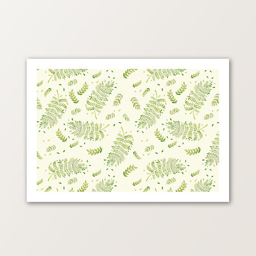 'Greenery in the Wind' PRINT