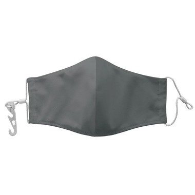 Reusable Face Mask w/Pouch - Gray