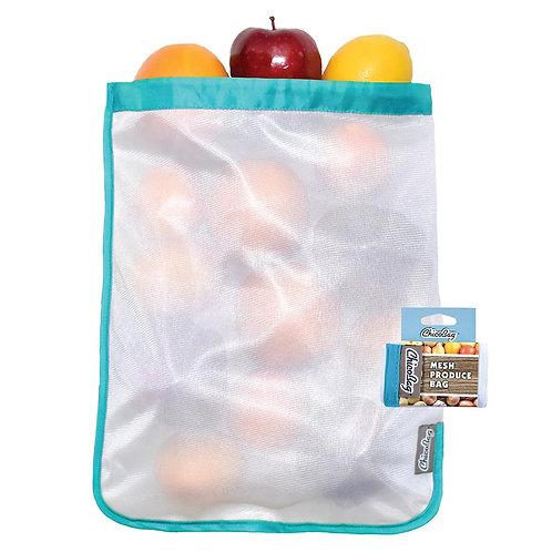 Reusable Produce Mesh Bag (Blue)