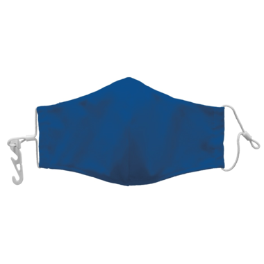 Reusable Face Cover w/Pouch - Blue