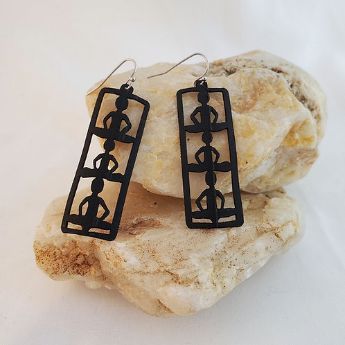 Meditation Earrings - Sustainable