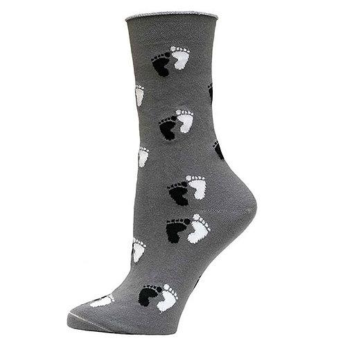 Maggie's Organic Cotton Footprint Socks