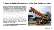 First Kato SR-500LX in Singapore goes to Mun Siong Engineering Limited