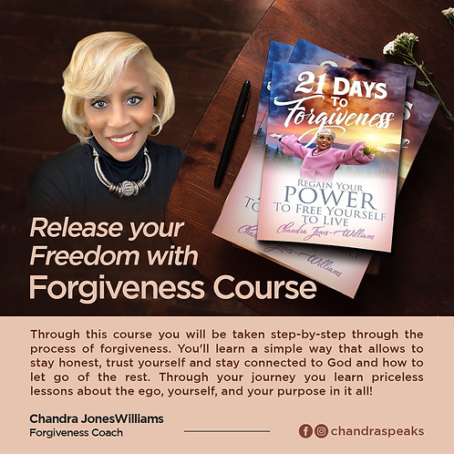"""FORGIVENESS """"Release the Weight to Access Your Freedom to Live"""""""