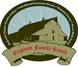 England Family Ranch Logo