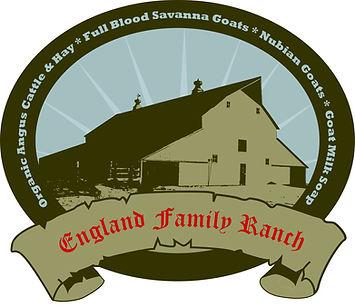 England Family Ranch Logo