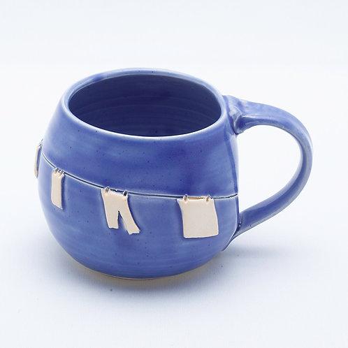Clothesline Mug