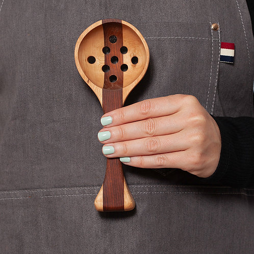 Slotted Wooden Spoon