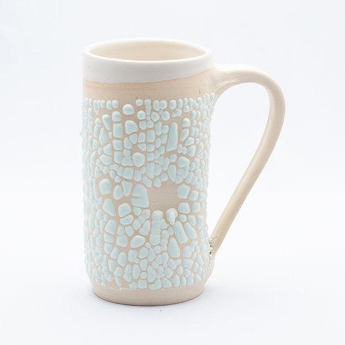 Mug, White Stoneware in mint