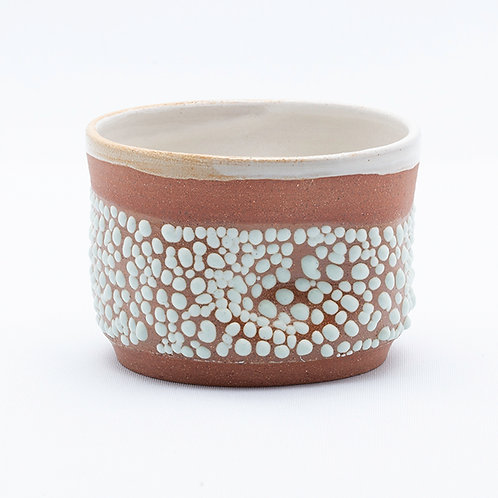 Small Bowl, Red Stoneware in mint