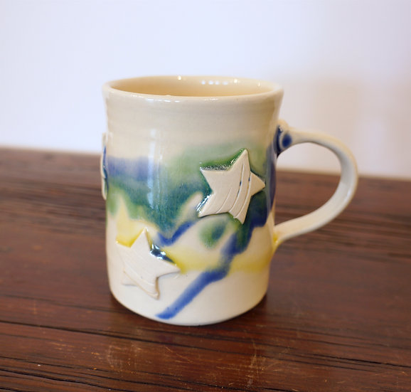 Starry Night Mug - Apple Art Collection