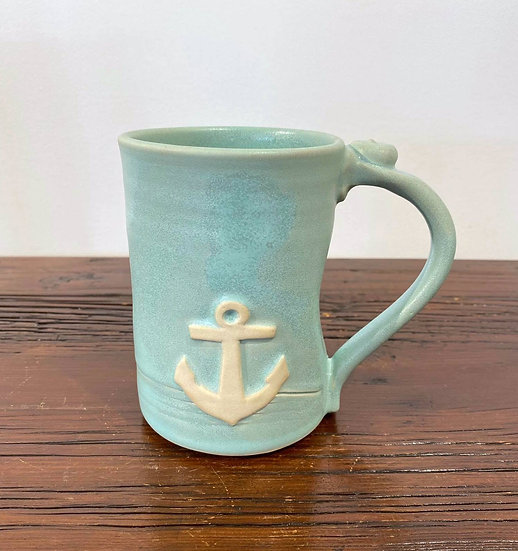 Large Anchor Mug