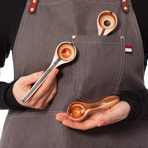 Coffee & Tea Wooden Artisan Scoop