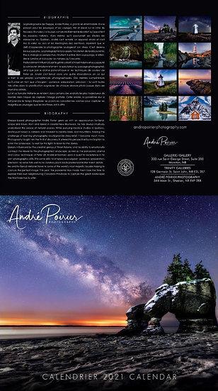 Calendar 2021, André Poirier Photography
