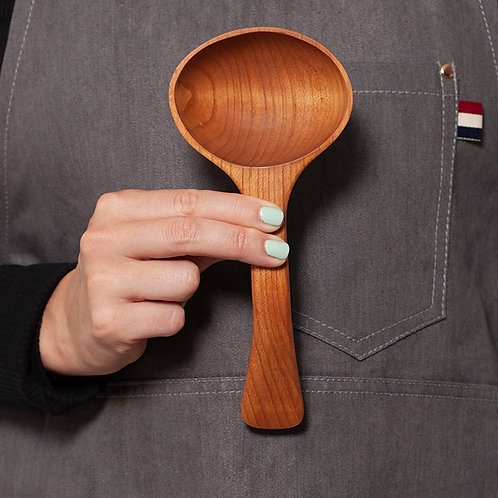 Medium Serving Spoon - Wide Mouth