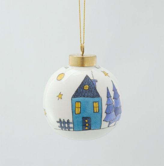 Little Blue House Ball