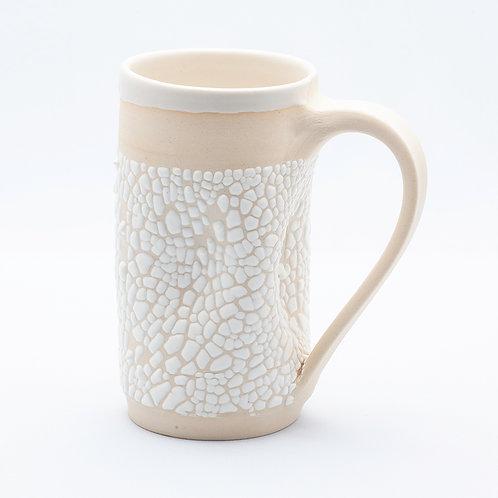 Mug, White Stoneware in white