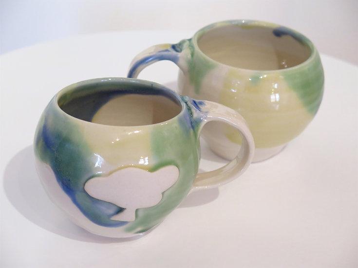 Apple Art Community mug,