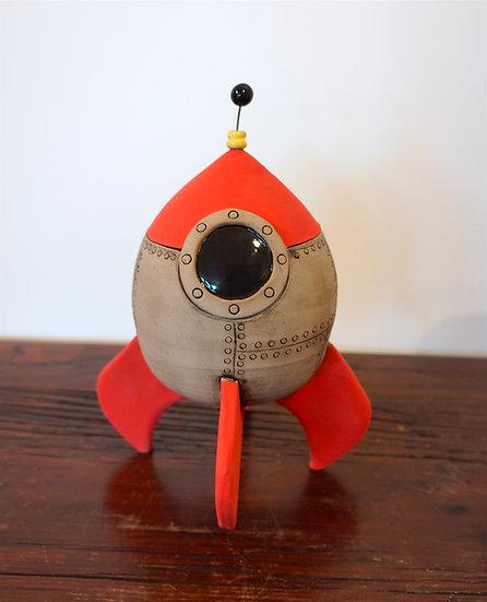 Rocket Ship - Orange