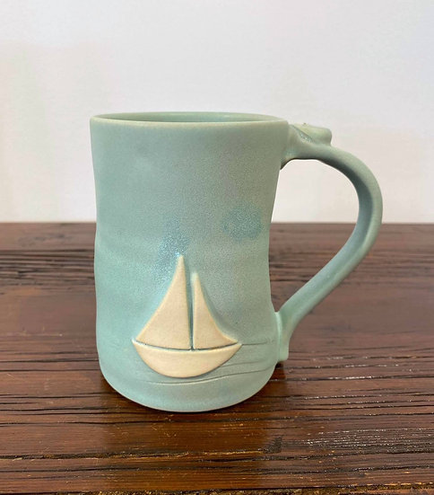 Large Sailboat Mug