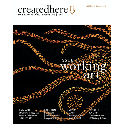 Created Here, Issue 13 WORKING ART