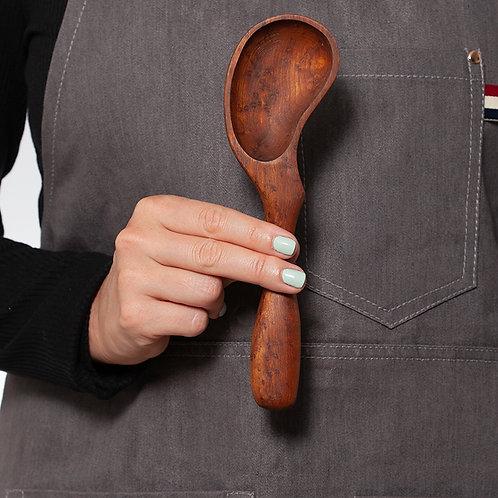 Serving Spoon - Dark Wood