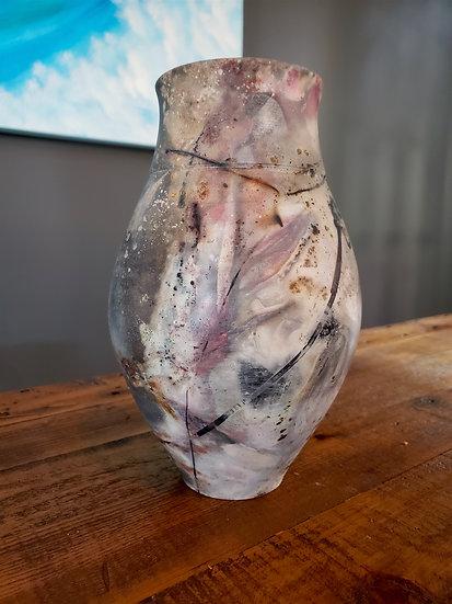Pit Fired #1b Vase