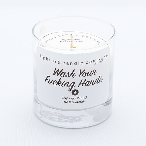 Wash Your Fucking Hands - Satsuma scent