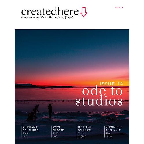 Created Here, Issue 14 ODE TO STUDIOS (North NB)