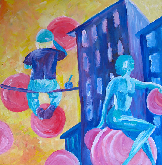 painting bubbles
