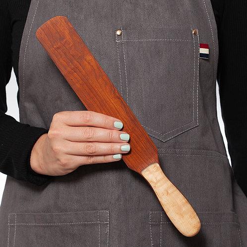 Large Wooden Spreader - Dark Coloured Wood