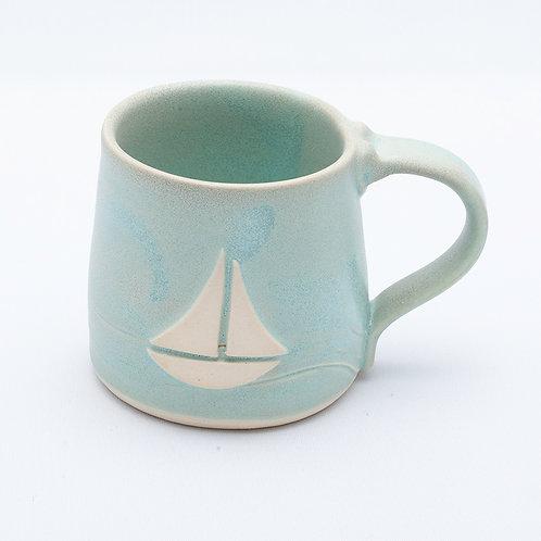Sail Boat Mug