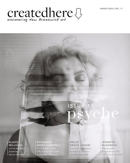 CreatedHere Magazine - Issue 11 PSYCHE