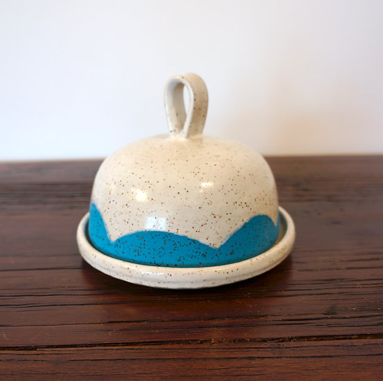 Butter Dish - Speckle Collection(blue)